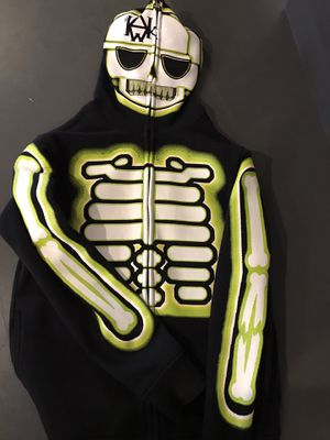Tony Hawk Boys' Skeleton Halloween Hoodie - Boys Size M for Sale in Camas, WA