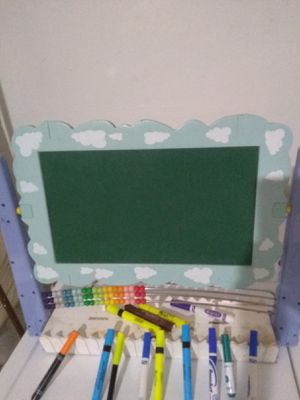 chalk bord,home work bord for Sale in Merced, CA
