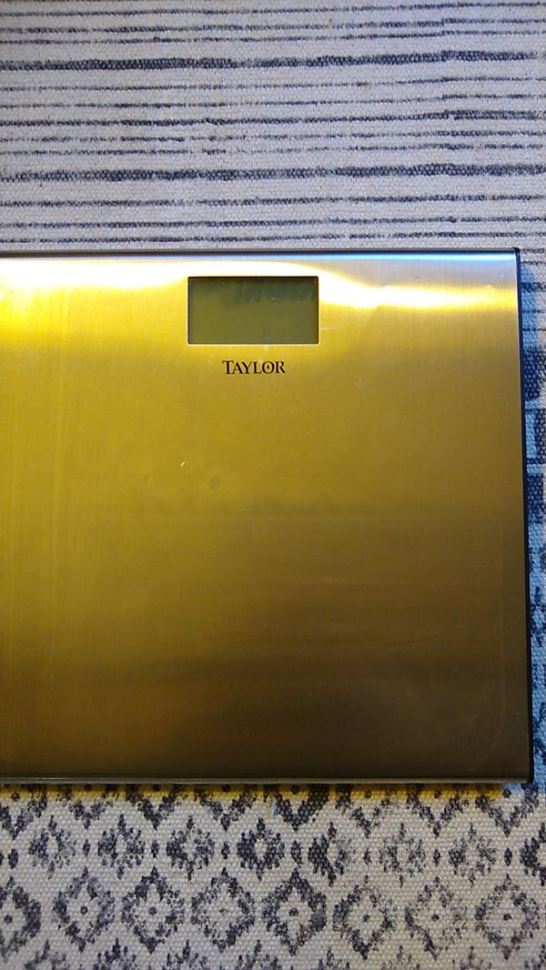 Taylor bathroom scale, excellent condition