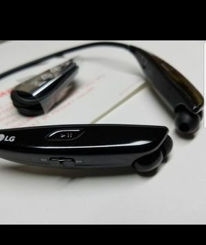 LG HBS-810 Tone Ultra Premium Wireless Bluetooth Stereo Headset (Black) for Sale in Dearborn, MI