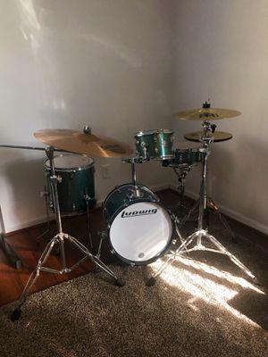 Ludwig 4-Piece Drum Set (w/cymbals) for Sale in Walnut, CA