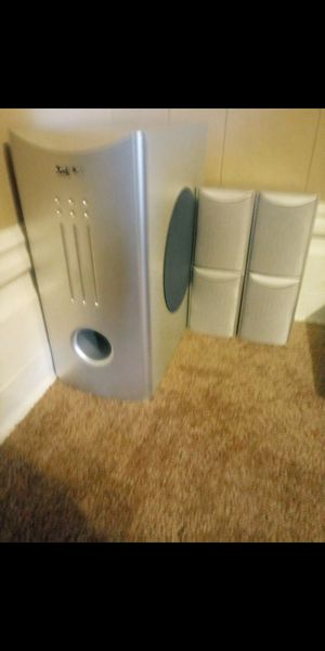 Apex surround sound speakers and different dvd players for Sale in Butler, PA