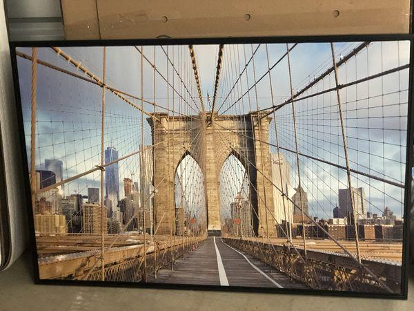 Brooklyn Bridge Frame