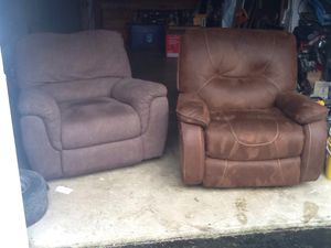 2 recliner s for Sale in Newcastle, WA