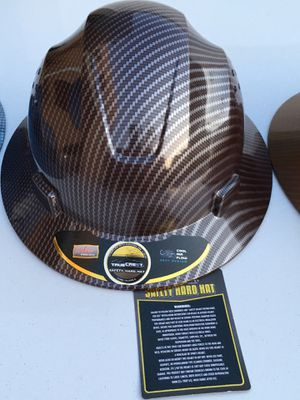 Fiberglass Safety Hard Hat Dark Red for Sale in Los Angeles, CA