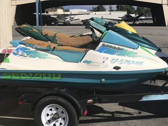 Sea doo's With Trailer for Sale in Riverside,  CA