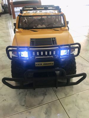 HUMMER H2 FULL FUNCTION RC 1/6 WITH UPGRADE LED for Sale for sale  Paterson, NJ