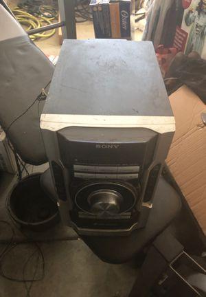 Radio CD player & speakers for Sale in Corona, CA