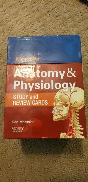 Anatomy and physiology study aids for Sale in Saint Petersburg, FL