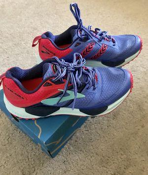 e6ffe88526f8b Brooks Cascadia 12 Women Trail Running Shoes Size 8 Baja Blue Paradise Pink  NEW for Sale