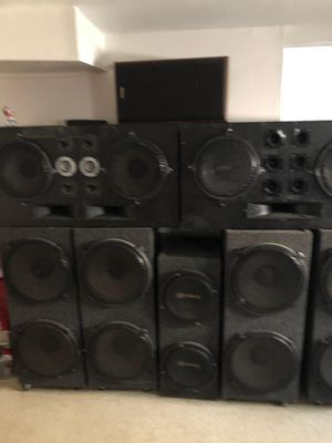 DJ Equipment w Speakers for Sale in Calumet City, IL