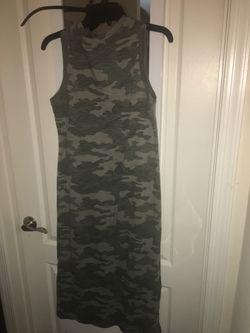 Long camo T-shirt dress for Sale in Ashburn,  VA