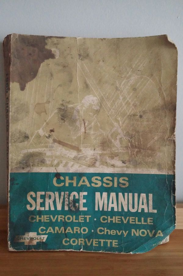 '69 Chassis Service Manual