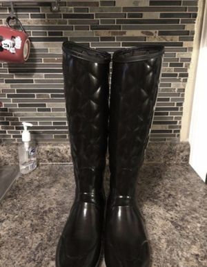 Authentic Hunter boots size 7 for Sale in Irving, TX