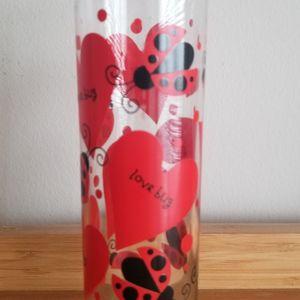 Vintage Indiana Glass Lovebug Heart Vase for Sale in Germantown, MD