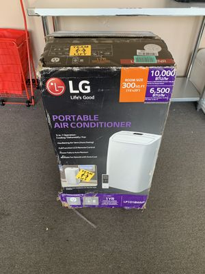 LG 10,000 BTU Portable Air Conditioner w Remote for Sale in Duluth, GA