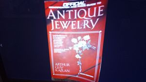 Antique jewelry by Arthur Caplan 1990 price book for Sale in Oshkosh, WI