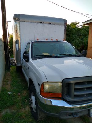 99 ford f350 super duty ....gas truck...12ft box for Sale in E RNCHO DMNGZ, CA