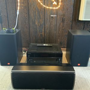 Excellent condition! Sound System :: Pioneer Receiver, JBL Speakers, PolkAudio Center Speaker for Sale in Chula Vista, CA