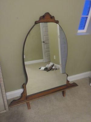 Antique Vanity with Mirror for Sale in Knightdale, NC