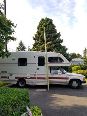 "'87 Toyota Itasca ""Tiki Bar"" RV, LOW MILES! for Sale in Mountlake Terrace, WA"