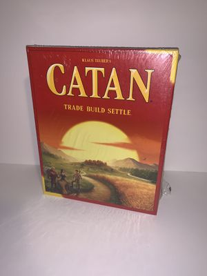 Catan 5th Edition Trade Build Settle for Sale in San Leandro, CA