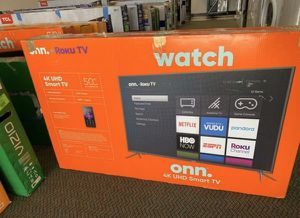 """50"""" 4K Smart TV with Roku!!! New ! 3NF for Sale in Los Angeles, CA"""