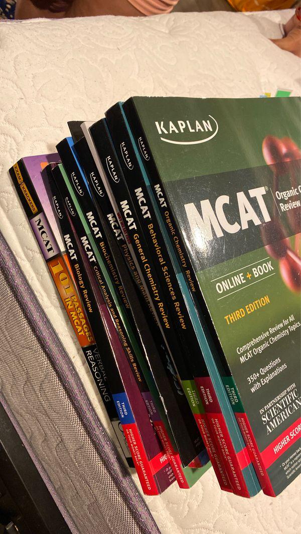MCAT study books
