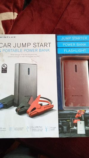 Car jump starter & portable power bank for Sale in Fresno, CA