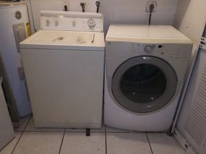 Washer and dryer machine must sell ASAP for Sale in Pompano Beach, FL