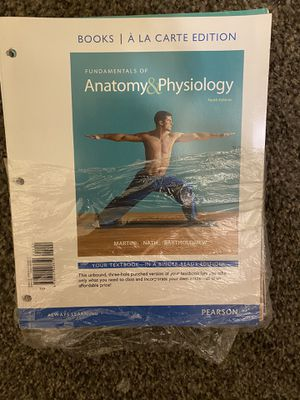 Fundamentals of Anatomy & Physiology, Books a la Carte Edition for Sale in Pomona, CA