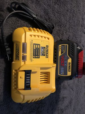 Dewalt 6.0ah battery and Fast Charger for Sale in San Diego, CA