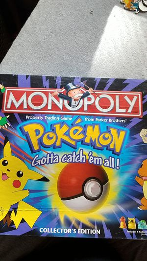 Pokemon monopoly for Sale in Dundee, MI