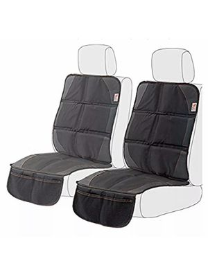 Ezoware Child Car Seat And Booster Black Car Seat Protector With Storage for Sale in Los Angeles, CA