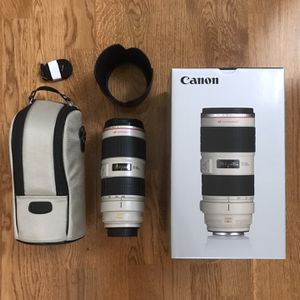 Canon 70-200mm 2.8 IS ii for Sale in Redwood City, CA