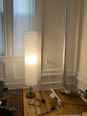 Floor lamp barely used for Sale in New York, NY