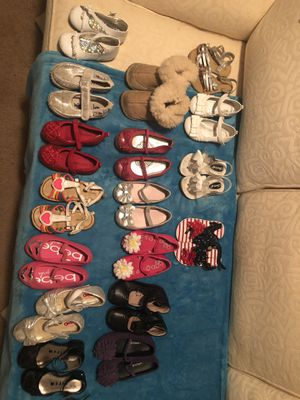 Lot of Toddler Size 6-7 Shoes for Sale in Philadelphia, PA