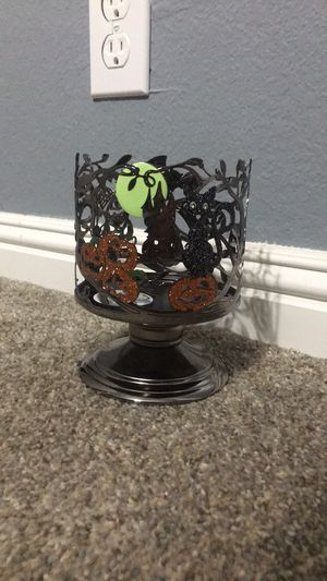 Bath and body works halloween candle holder for Sale in Apple Valley, CA