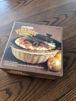 NEW in box- Pyrex Fireside Naturals by Corning 6230 for Sale in Riverside, CA