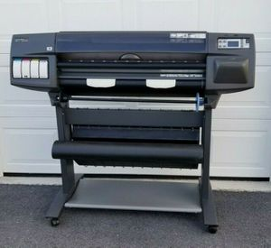***HP Designjet 1055CM Plus C6075B Large Format Printer**** for Sale in Hampton, VA
