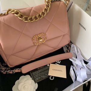 Goatskin Quilted Large 19 Flap Light Pink Chanel Bag for Sale in Allentown, PA
