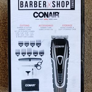 New sealed in box- Conair Barbershop Series No-Slip Grip Hair Cutting Kit; Hair Trimming Kit, Corded for Sale in Minneapolis, MN