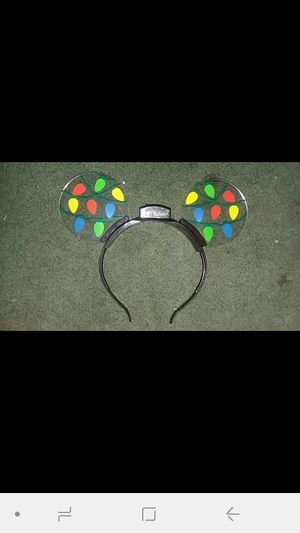 4 pairs Disney light up holiday Christmas mickey ears for Sale in Kissimmee, FL