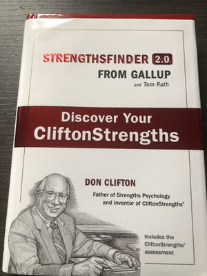 Strengthsfinder 2.0: Discover Your CliftonStrengths for Sale in Washington, DC