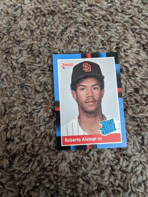 1988 donruss roberto alomar rookie card make offer price negotiable for Sale in Seven Hills, OH