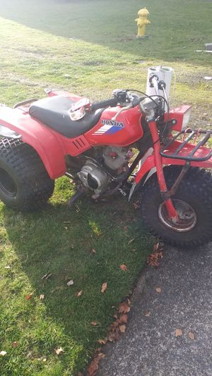 1986 Honda ATC 125M project, clear title, runs drives and stops, low production numbers for Sale in Enumclaw, WA