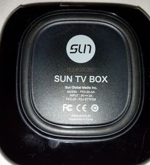 SUN TV Box for Sale in Laurel, MD