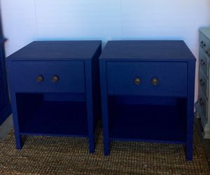 2 nightstand vintage blue color for Sale in Los Angeles, CA