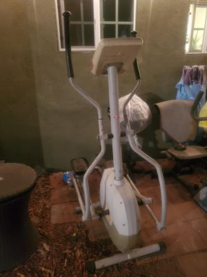 Free. Elliptical. Been stored outside. (I will mark some once it's gone from the curb) for Sale in Hawthorne, CA
