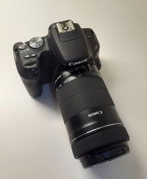 Canon EOS Rebel SL2 Camera EF-55-250mm STM Lens 24.2 MP Full HD, External Microphone Touch Screen, Wi Fi, NFC and Bluetooth for Sale in Miami, FL